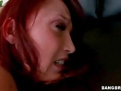 Turned on tough guy deeply drills Nicki Hunter`s eager anus.